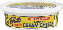 Tofutti  8 oz. Select Varieties Cream Cheese product image.