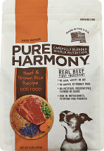 Pure Harmony 4 lb. Dog Food product image.
