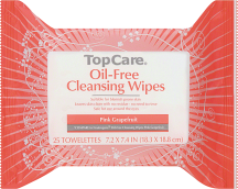 Top Care 25 ct. Select Varieties Cleansing Wipes product image.
