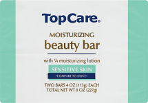 Top Care 2 pk. 4 oz. Bar Soap product image.