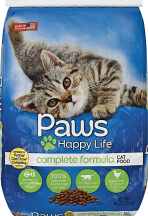 Paws Happy Life 16 lb. Select Varieties Cat Food product image.