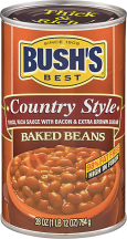 Bush's 21.5-28 oz. Select Varieties Baked Beans product image.
