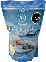 Raw Shrimp product image.