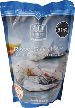 Raw Shrimp product image.