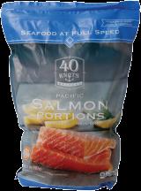 40 Knots 2 lb. Select Varieties Salmon Fillets product image.