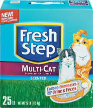 Fresh Step 15.4-25 lb. Select Varieties Cat Litter product image.