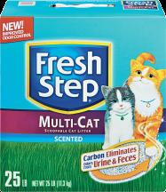 Fresh Step 15.4-25 lb. Select Varieties Cat Litter product image.