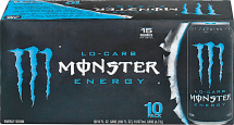 10 pk. 16 oz. Cans Select Varieties Energy Drinks product image.