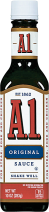 A1 10 oz. Select Varieties Steak Sauce product image.