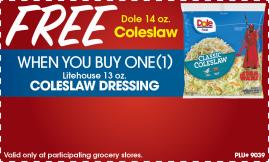 Coleslaw product image.