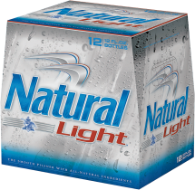 15 pk. 12 oz. cans Natural Beer product image.