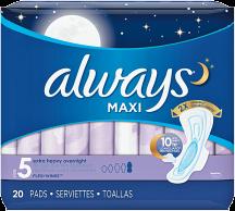 Feminine Products product image.
