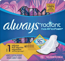 Pads or Tampons product image.