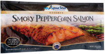 Aqua Star 1.25 lb. Smoky Peppercorn Salmon Fillets product image.