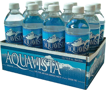 Aquavista or Lipton 12 pk. 16.9 oz. Bottles Select Varieties Tea or Water product image.