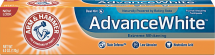 Arm & Hammer 4.3-6 oz. Select Varieties Toothpaste product image.