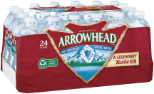 Arrowhead 24 pk. Half Liter Bottled Water product image.