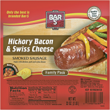 Bar S 32-48 oz. Select Varieties Sausage product image.