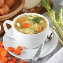Your Choice of Chili Grande and 2 flavorful soups everyday! product image.