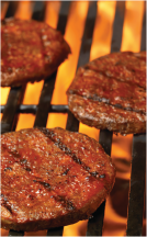 Day's 1 lb. 85% Lean Ground Beef Pattie product image.