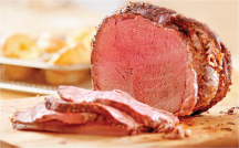 Beef Boneless Sirloin Tip Roast product image.