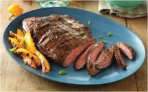 Willamette Valley Boneless Beef Flank Steaks product image.