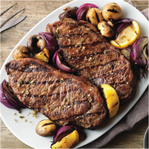 New York Strip Steaks product image.