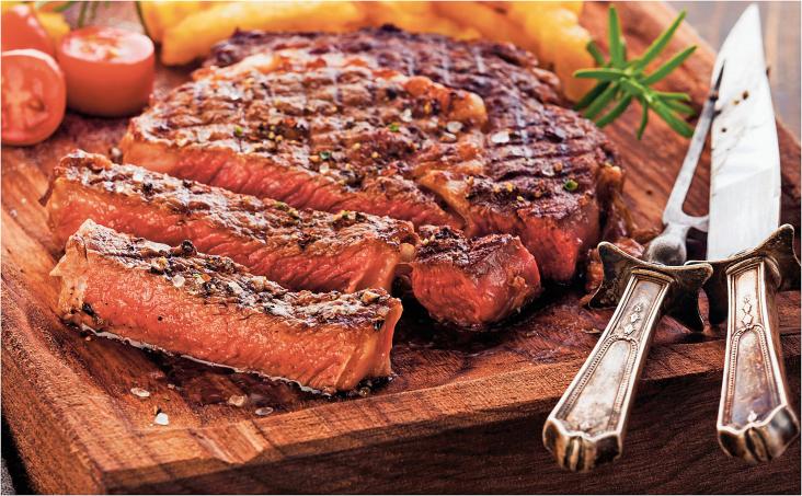 Boneless Beef Ribeye Steaks product image.