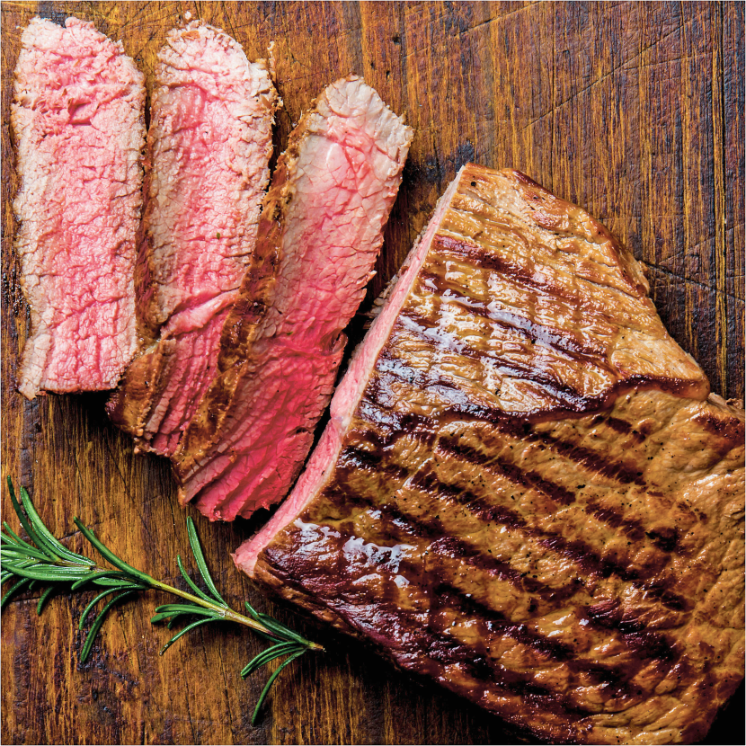 Beef Top Sirloin Steaks product image.