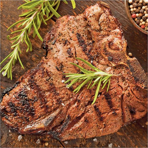 Beef T-Bone Steaks product image.