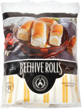Beehive 18 ct. Dinner or Rhodes 6-36 ct. Select Varieties Roll Dough product image.