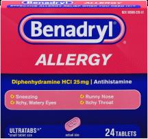 Benadryl product image.