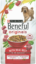 Purina Beneful 31.1 lb. Original or Healthy Weight Dog Food product image.