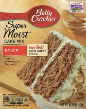 Betty Crocker 15.25 oz. Select Varieties Cake Mix product image.