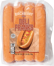 Birchberry 25.6 oz. Deli Franks product image.