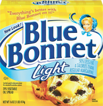 Blue Bonnet 16 oz. Original or Light Margarine product image.