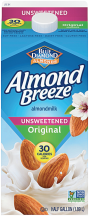 Almond Breeze  64 oz. Select Varieties Almond Milk product image.