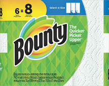 Paper Towels or Bathrooom Tissue product image.