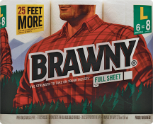 Brawny 6 ct. Select Varieties Paper Towels product image.