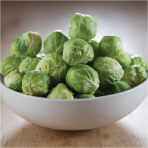 Fresh Brussel Sprouts product image.