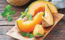 Ripe Cantaloupe product image.
