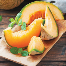 Fresh Sweet Whole Cantaloupe product image.