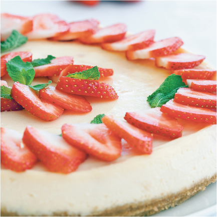 Cheesecake product image.