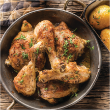 All Natural Chicken Thighs or Drumsticks product image.