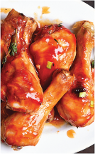 All Natural Chicken Drumsticks or Thighs product image.