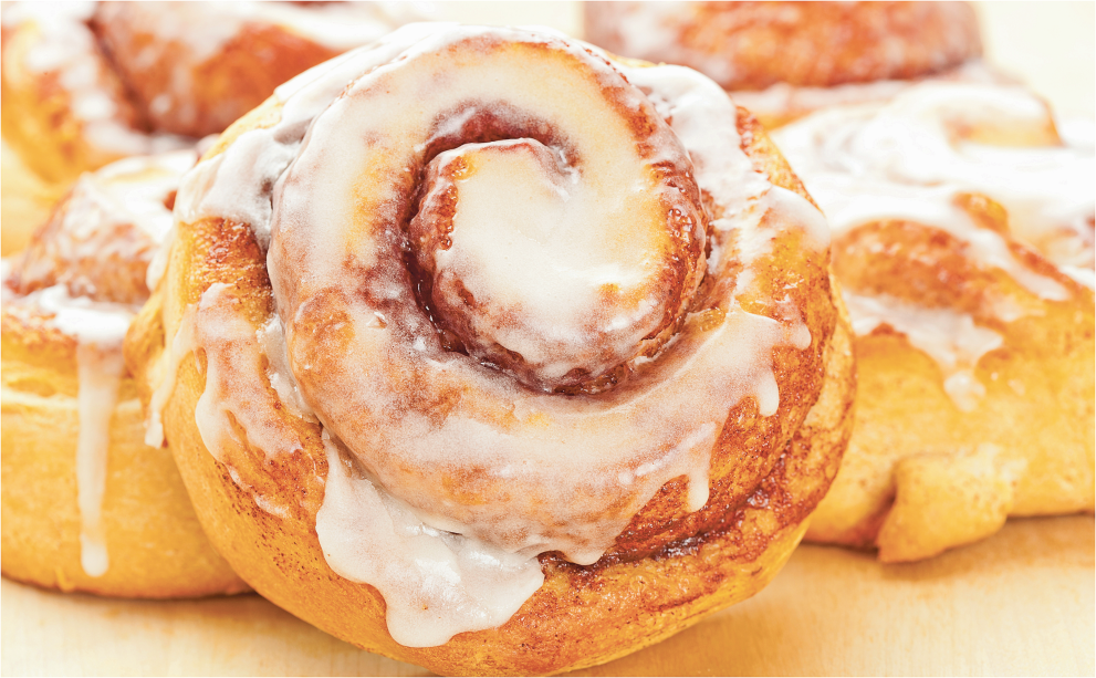 4 ct. Bakery Fresh Cinnamon Rolls product image.