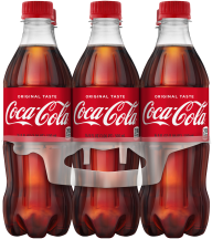 6 pk. .5 Liter Bottles Select Varieties Coke Products product image.