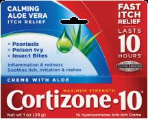 Cortizone 1-1.25 oz. Select Varieties Skin Care product image.