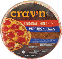 Thin Crust Pizza product image.