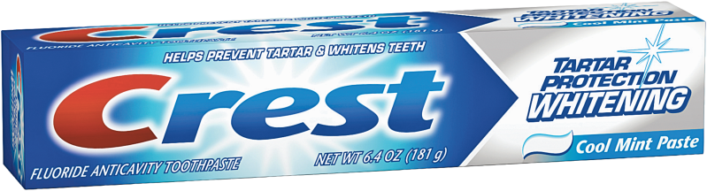 Crest  6.4 oz. Select Varieties Oral Care product image.